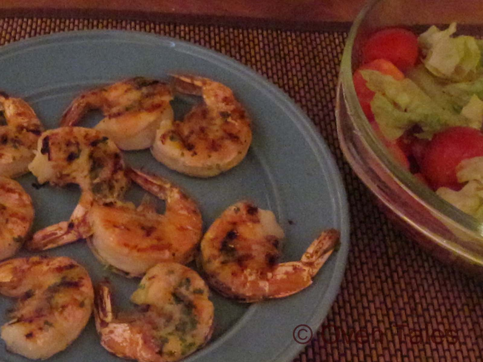 how to cook grilled shrimp in the oven
