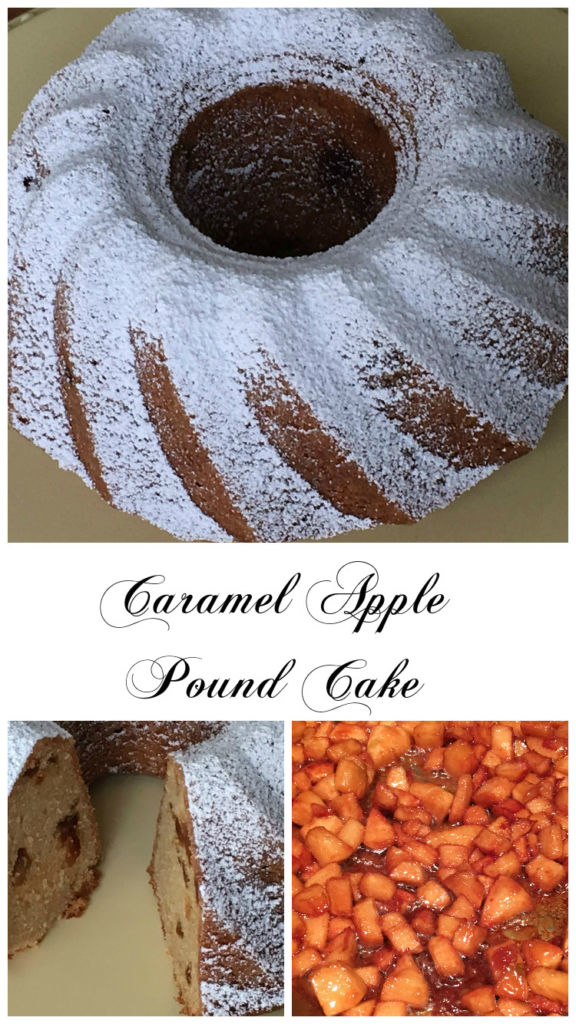 CaramelApplePoundCake