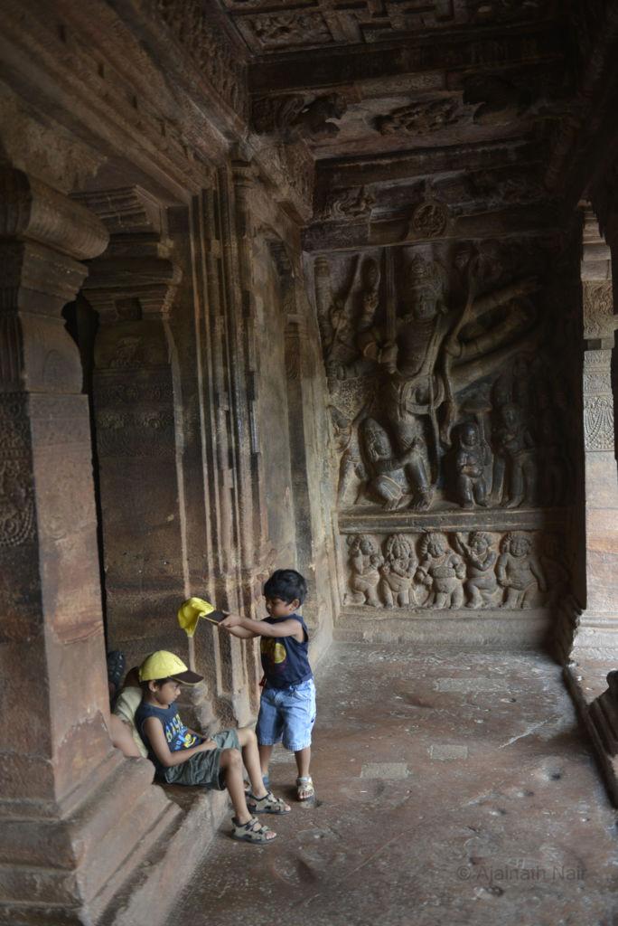 Vishnu Statue Badami