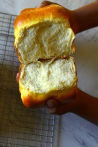 Hokkaido Milk Bread Inside view