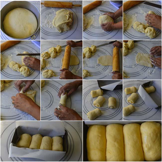 Shaping Hokkaido Milk Bread
