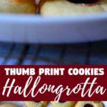 Thumb Print Cookies or the Swedish Hallongrotta