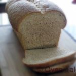 Whole Wheat Buttermilk Bread – 75%  whole  Wheat