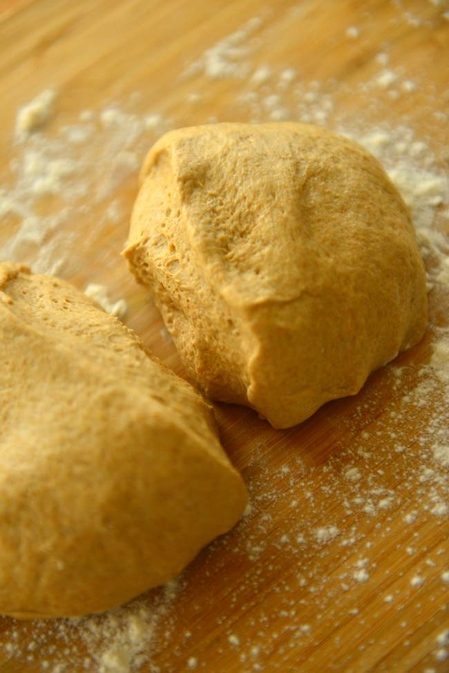 Basic whole wheat DoughCrust
