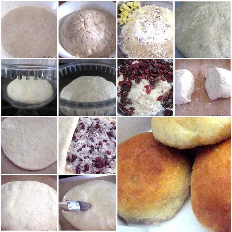 Making Dilkhush /Dilpasanad Coconut Buns