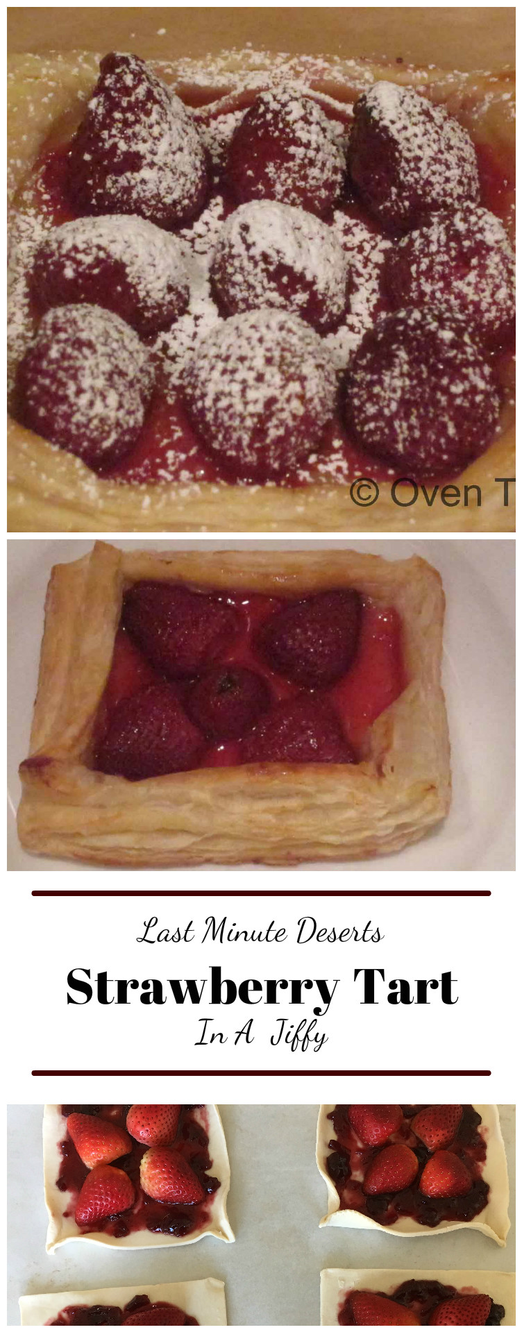 Strawberry Tart With Puff Pastry