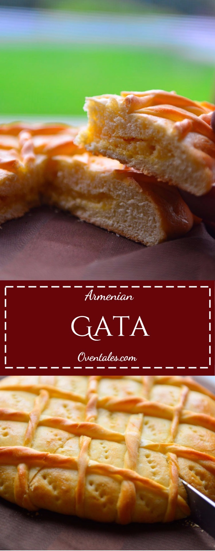 Armenian Gata Pin