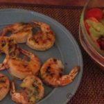 Easy Weeknight Meals- Crispy Grilled Shrimp