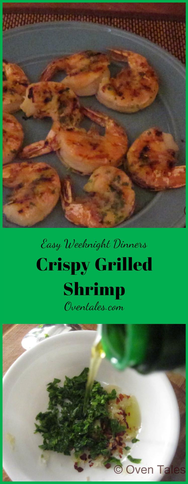 Crispy Grilled Shrimp
