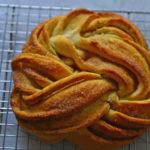 Estonian Kringle - Cinnamon Rosette bread
