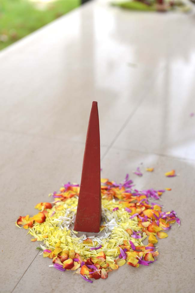 Onathappam - the truncated pyramid used in Onam cemebrations