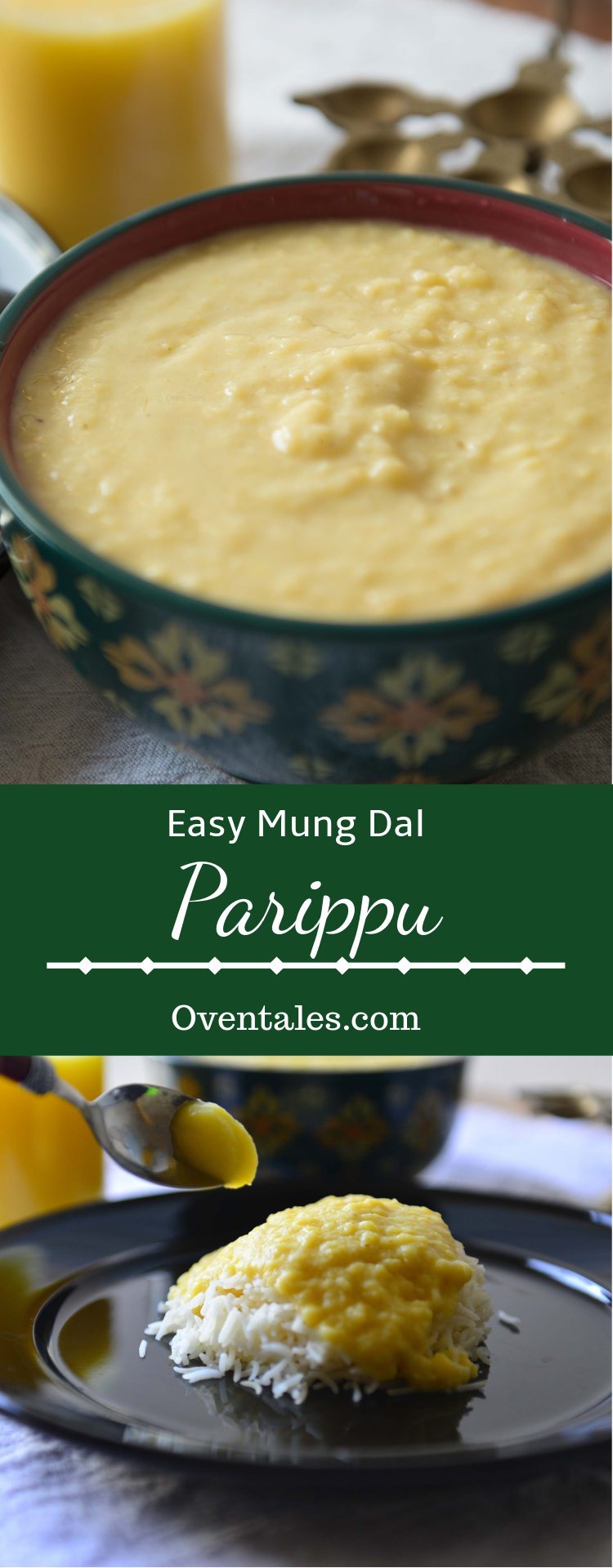 how to make parippu curry
