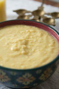Parippu or Mund Dal Curry for Sadya