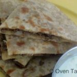 Kheema Paratha – Flat Bread Stuffed With Spiced Gound Lamb