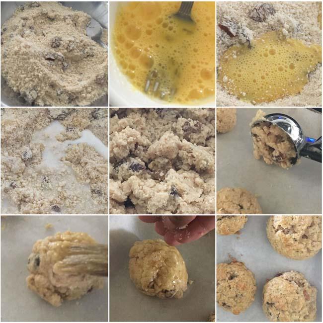 Making 30 minutes scones