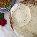 Palappam or  Hoppers – Fermented Rice and Coconut Pancakes