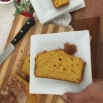 A delicious pumpkin quick bread