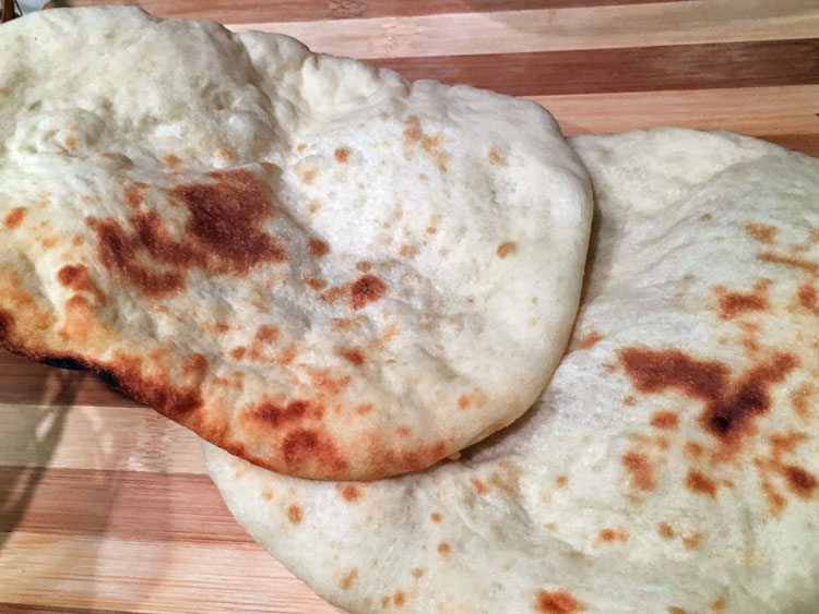 Sourdough Naan