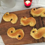 Lussekatter or  St.Lucia Rolls –  The Swedish Saffron Buns