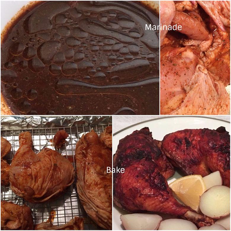Making Pollo A La Brasa