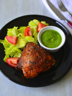 Pollo A La Brasa - the flavorful Peruvian Roast Chicken