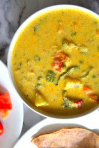 south Indian style vegan mix veg kurma