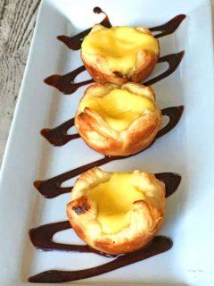 Pasties De Nata - The portuguese custard tarts