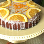 Goji Berry  And Orange Cake