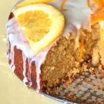 Goji berry Orange Cake