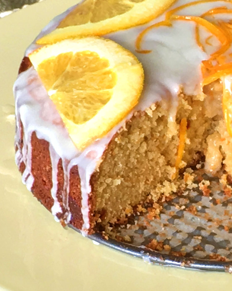 Goji berry Orange Cake