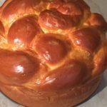Ukranian Paska - Easter Bread