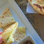 Aloo Kulcha - the potato stuffed skillet bread