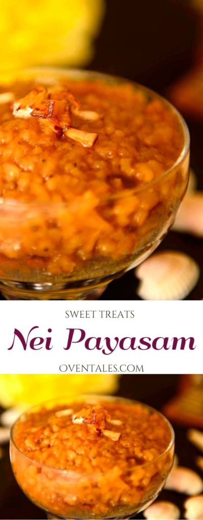 Nei Payasam From Kerala