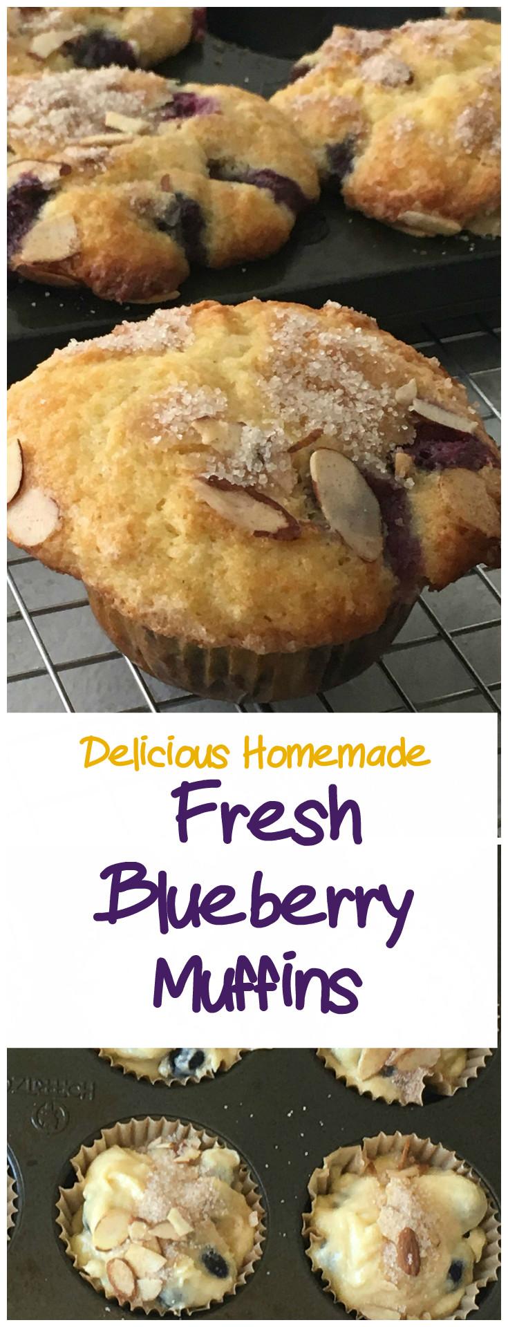 Fresh BlueBerry Muffins Pin