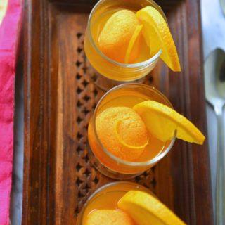 Komola bhog - Orange flavored rasgulla