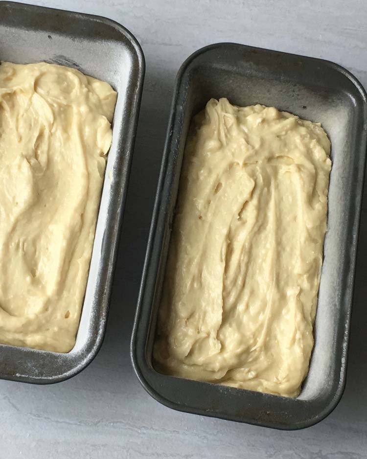Cream Cheese Pound Cake Batter