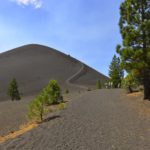 Cinder Cone At Lassen – On The Hiking  Trail