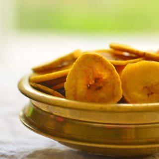 Fried Plantain Chips Popular in Kerala