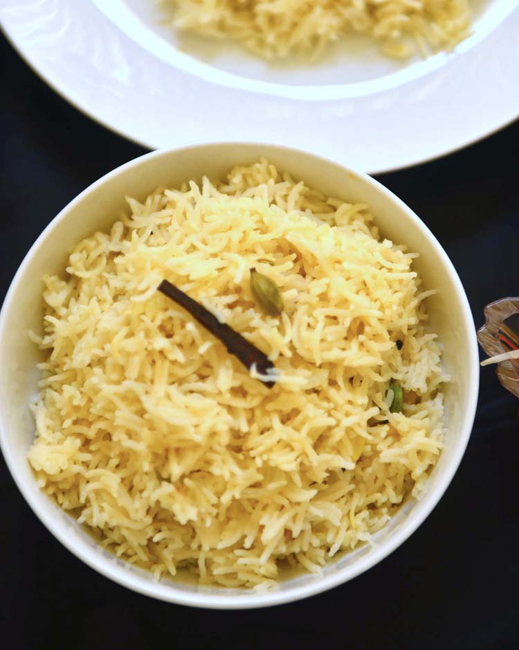 Ghee Rice - Delicately flavored aromatic rice