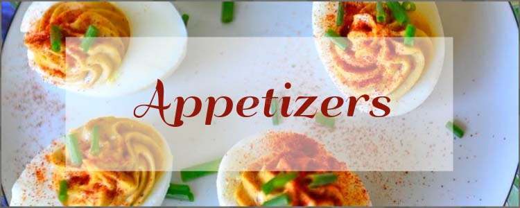 A collection of Recipes for Appetizers from Oventales.com