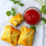 Egg Puffs - South Indian Spiced Egg Pastry