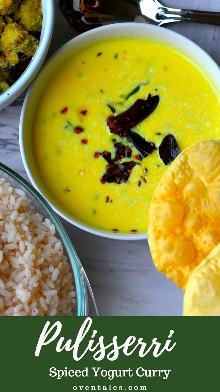 Pulisseri - Spiced Yogurt Curry served in Kerala Sadya