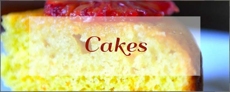A collection of Cake recipes in Oventales