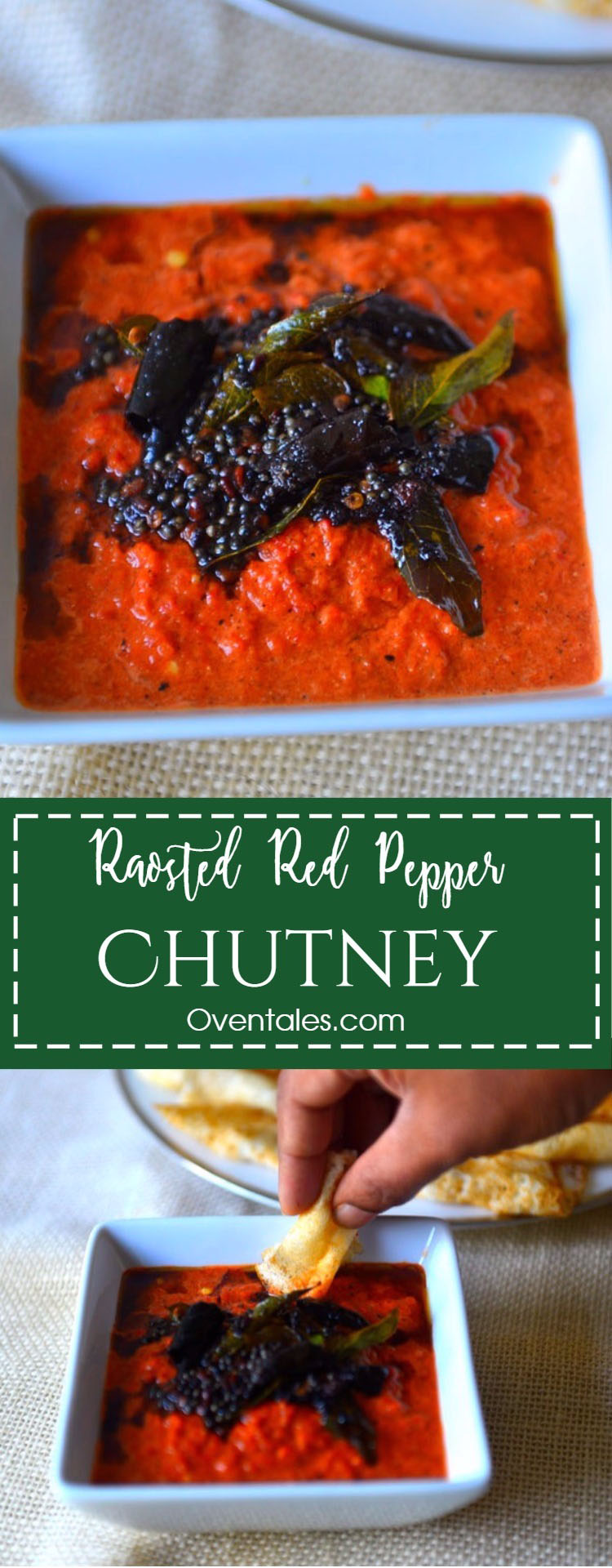 Roasted Red Pepper Chutney
