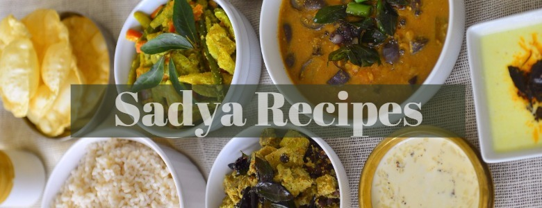 Sadya Recipes