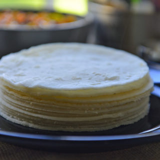 Ari Pathiri - A gluten free flat bread made with rice flour