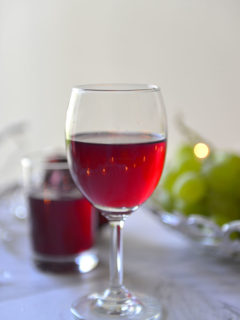 Home Made Grape Wine for Xmas