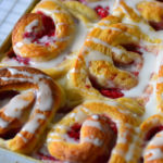 Light  and  Soft  – Delicious Raspberry Swirl Sweet Rolls