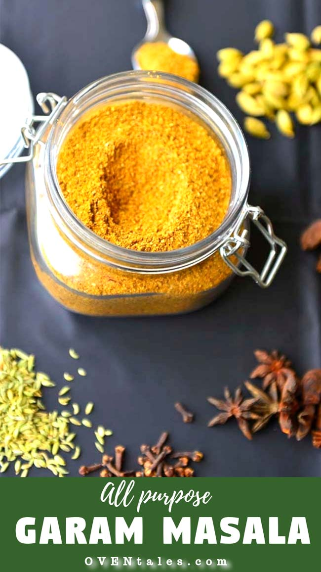 All Purpose  Garam Masala  used  in  many Indian  recipes