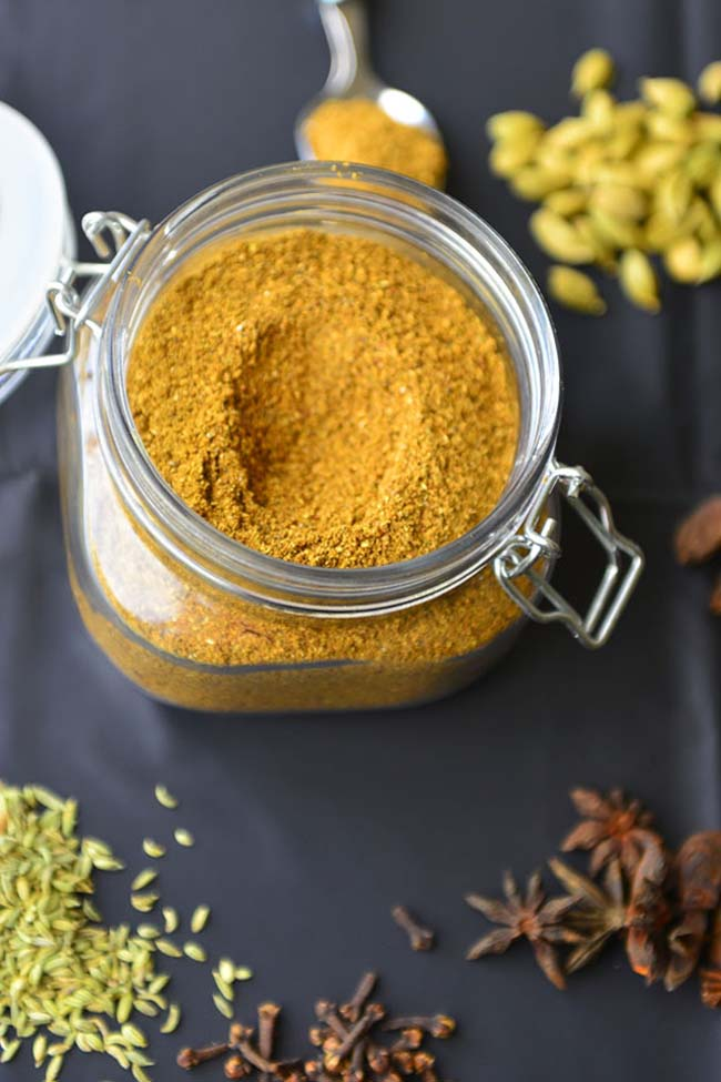The all lpurpose spic e blend used in many Indian recipes